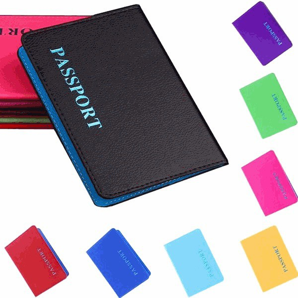 High Quality Soft PU Leather Passport Cover for Women New Arrivals