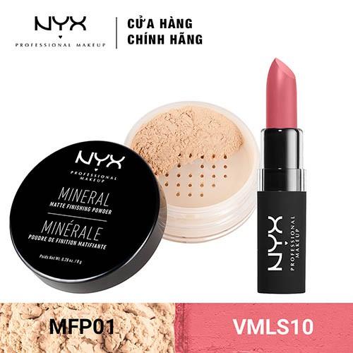 Bộ đôi Son môi & Phấn phủ dạng bột NYX Professional Makeup (VMLS10 + MFP01) _ TUNX00031CB - 3443217 , 1307090416 , 322_1307090416 , 580000 , Bo-doi-Son-moi-Phan-phu-dang-bot-NYX-Professional-Makeup-VMLS10-MFP01-_-TUNX00031CB-322_1307090416 , shopee.vn , Bộ đôi Son môi & Phấn phủ dạng bột NYX Professional Makeup (VMLS10 + MFP01) _ TUNX00031C