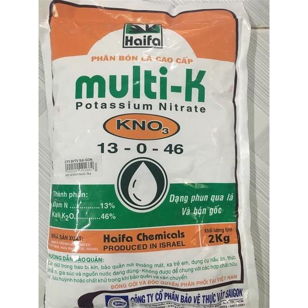 Multi K 13-0-46 giúp cây chịu hạn