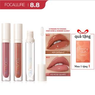 Hình ảnh FOCALLURE PLUMPMAX High Shine & Shimmer Lip Gloss 10 màu 3g 1pc-0