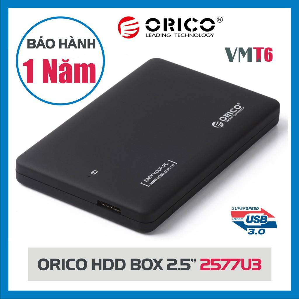 """Hộp Box ổ cứng HDD, SSD 2.5"""" Orico 2577U3 Sata 3.0 -SP Chính hãng bảo hành 12 tháng! Giá chỉ 99.000₫"""