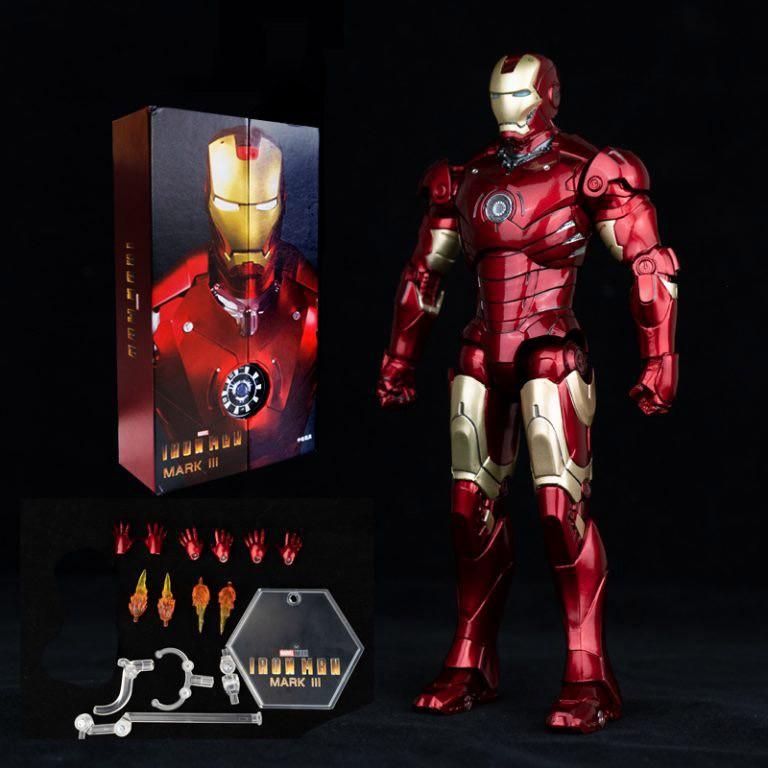 Mô hình Iron Man Mark 3 ZD Toys chính hãng