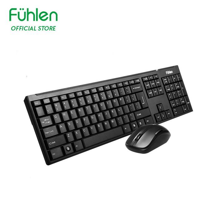 Bộ bàn phím và chuột không dây Fuhlen MK650 - Hàng chính hãng bảo hành 2 năm