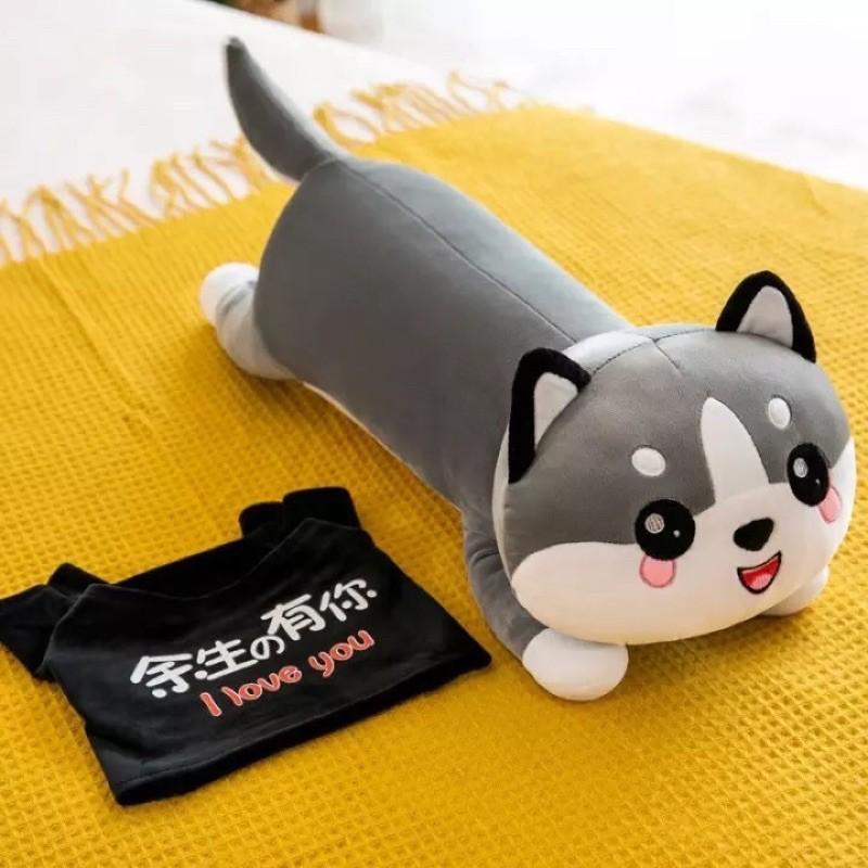 ❤️Sỉ Giá Xưởng❤️ Mèo Bông, Mèo Bi Xám, Mèo Ngáo Alaska Siêu Mềm Mịn