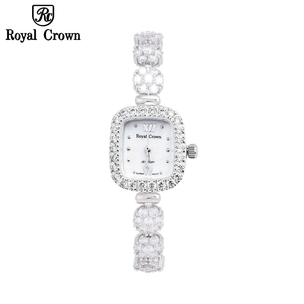 Đồng Hồ Nữ Chính Hãng Royal Crown 1514-J Dây Đá