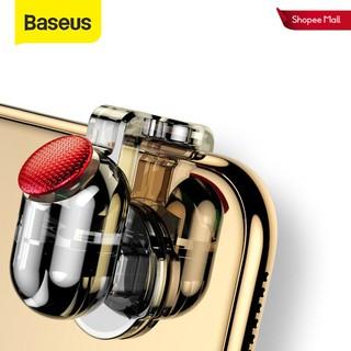 Set 2 nút bấm Baseus trái phải hỗ trợ chơi game bắn súng trên điện thoại thumbnail