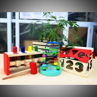 Compo 3 món đồ chơi giáo dục sớm