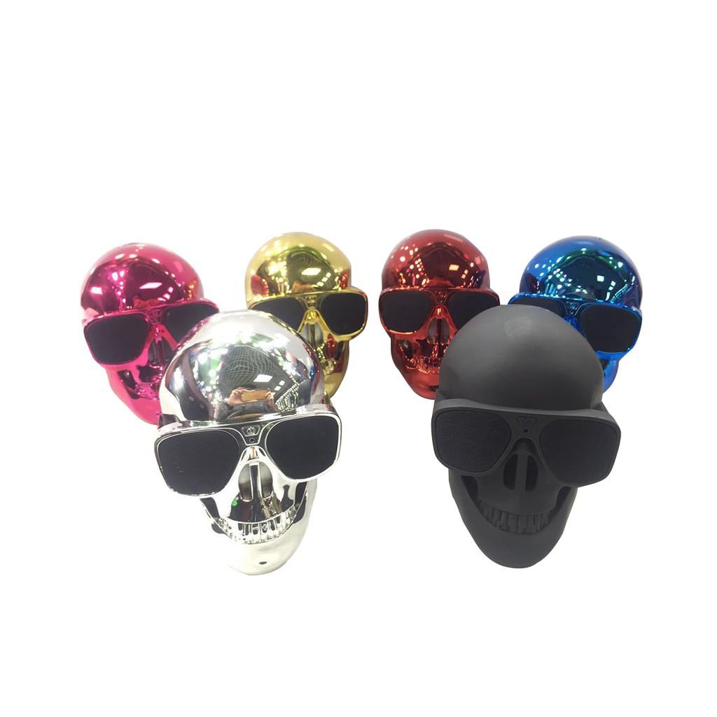 Skull Shape Wireless Bluetooth Speaker Sunglass NFC Skull Mobile Subwoofer