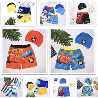 Quần bơi bé trai kèm nón từ 12 đến 35 kg