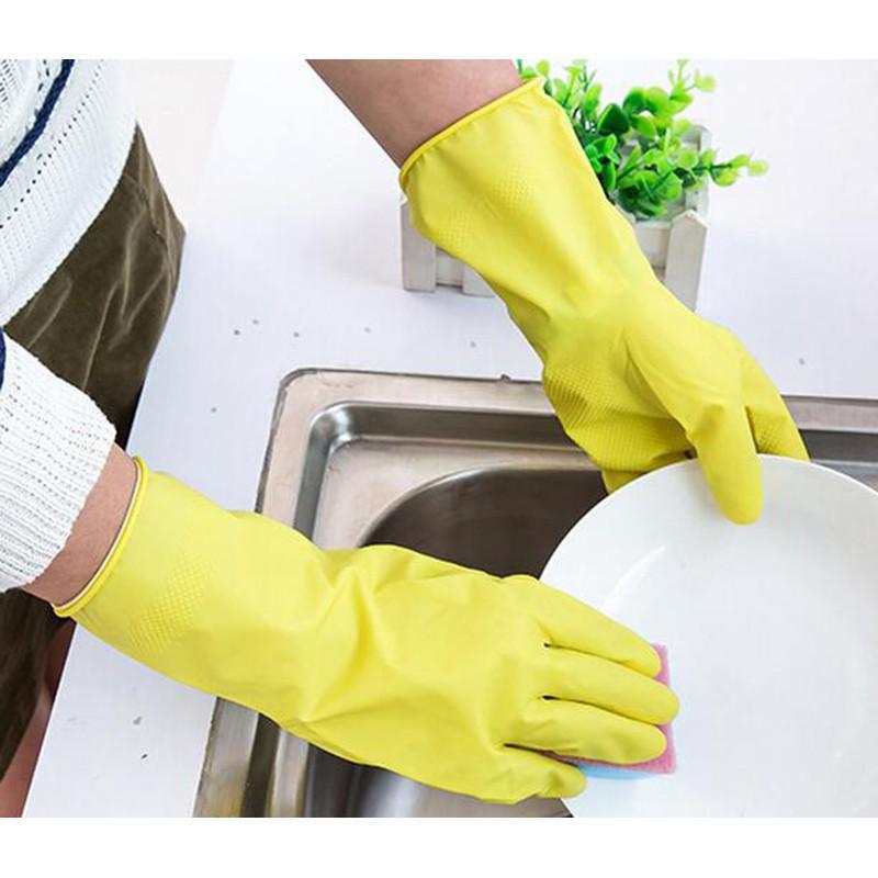 Combo 3 đôi găng tay cao su vệ sinh nhà cửa