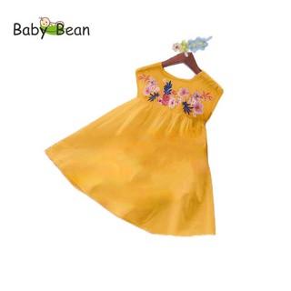 Đầm Đũi thêu Trái Cây xinh xắn bé gái BabyBean thumbnail