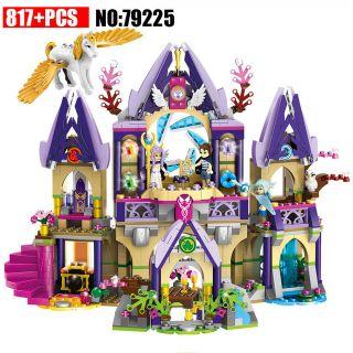 LELE 79225 Elves Figure blocks Skyra's Mysterious Sky Castle Lâu đài bí ẩn của Skyra