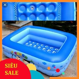 SIÊU RẺ: Bể bơi cho bé 1,2m 2 tầng dài 85cm( khách vui lòng đồng kiểm với shiper)