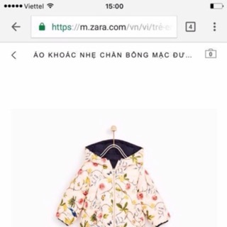 Áo khoác phao hai mặt zara bé gái xuất xịn_nguyên chip _ Giá Bán Sỉ Lẻ _ Giá Sỉ Tại Kho thumbnail