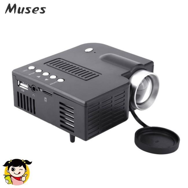 Muse07 Máy chiếu đèn LED loại nhỏ 1080P dùng để chiếu phim tại nhà