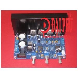 Mạch amplifier Subwoofer TDA2030A 2.1 18x2 + 36W – linh kiện tốt, chưa có tản nhiệt