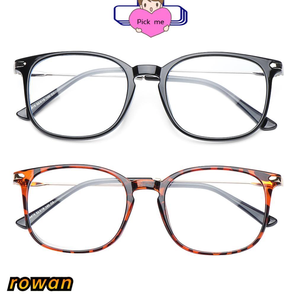 ROW Women & Men Computer Glasses Non-Prescription Blue Light Blocking Blue Light Glasses Reading Gaming Glasses Fashion Square Frame Anti...