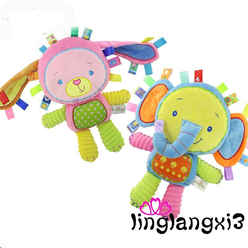 LLN-Baby Four Kinds Toy Soft Cute Animal Plush Doll Gift