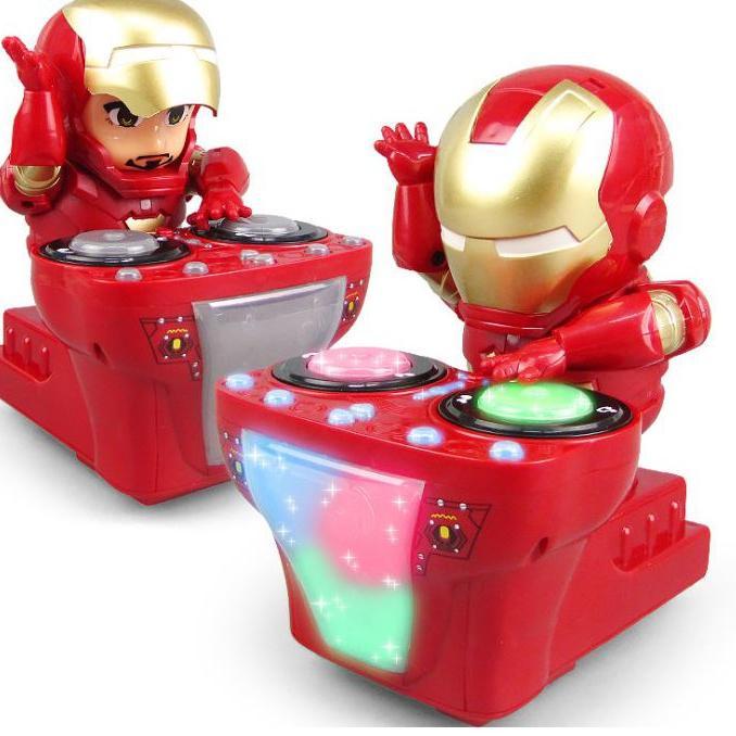 ・➼ Robot nhảy múa có đèn Led cho bé