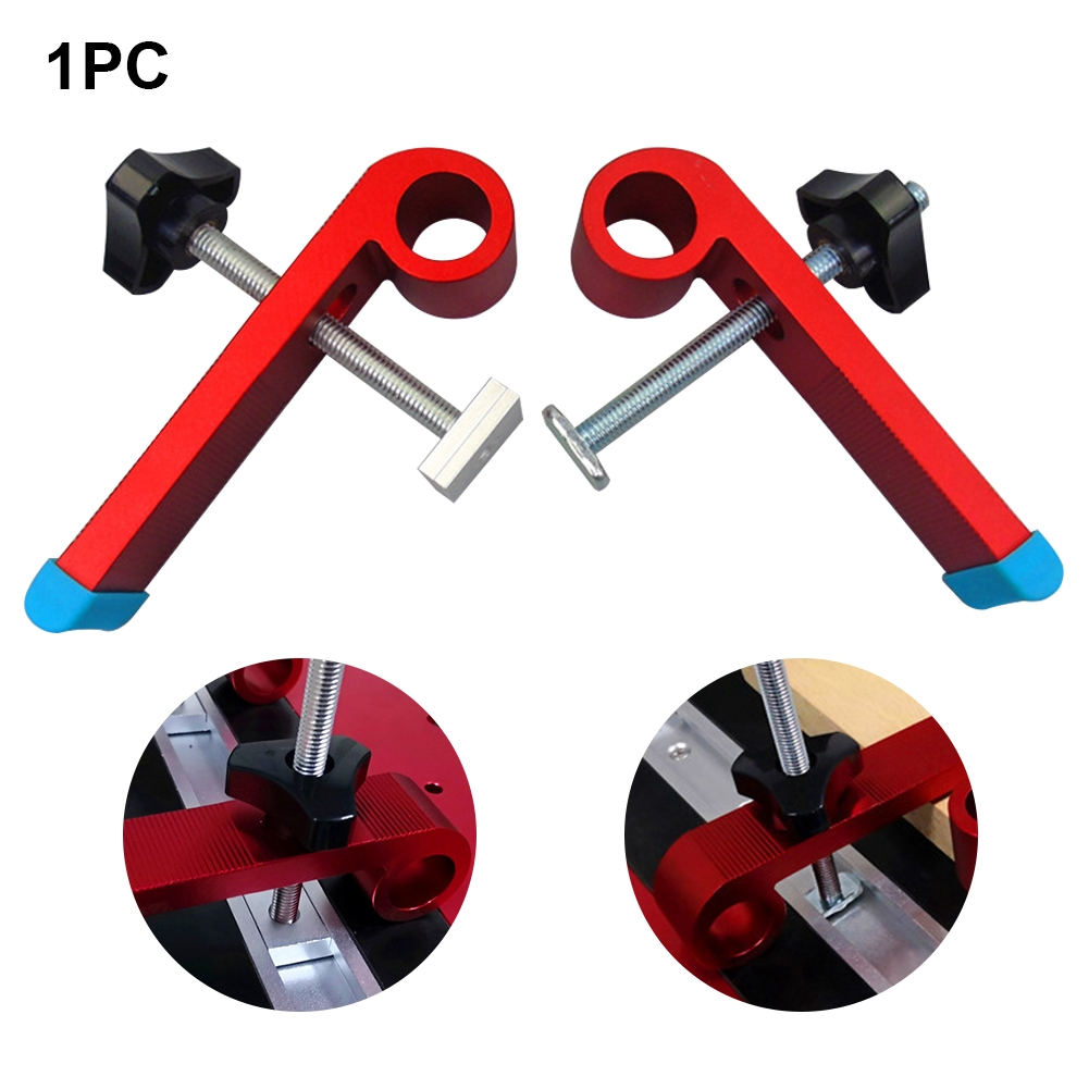 Hardware Briquetting T Slot With Screw Hand Tools Clamping Blocks Track Universal Platen Miter Fixed DIY Woodworking
