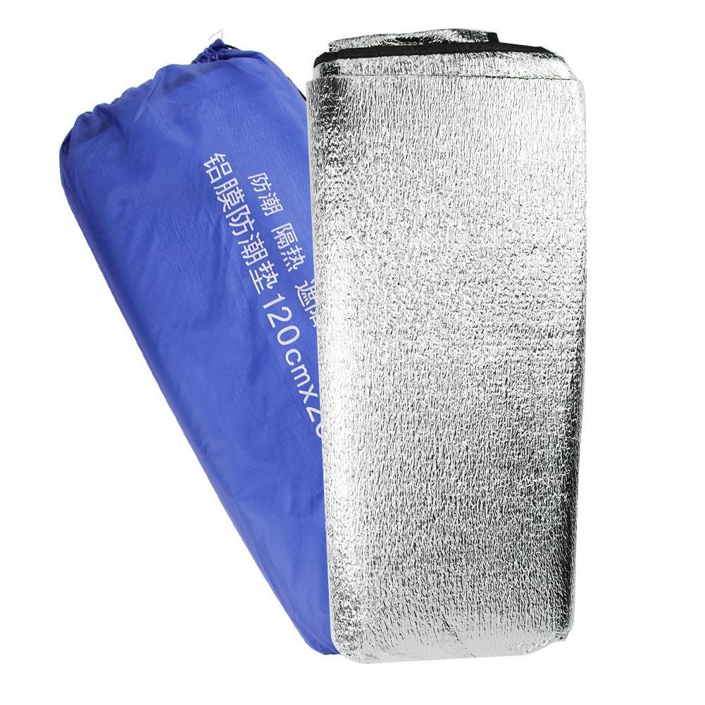 ✪ 1.2x2m Waterproof Aluminum Foil EVA Mat Picnic Beach Outdoor Camping Pad Valentinesss