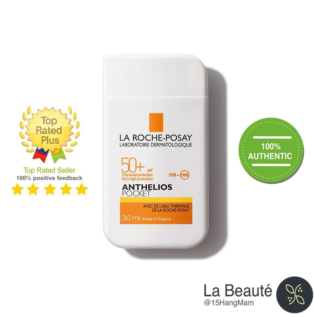 La Roche-Posay Anthelios Pocket SPF50+ - Kem Chống Nắng Cho Da Khô Nhạy Cảm 30ml