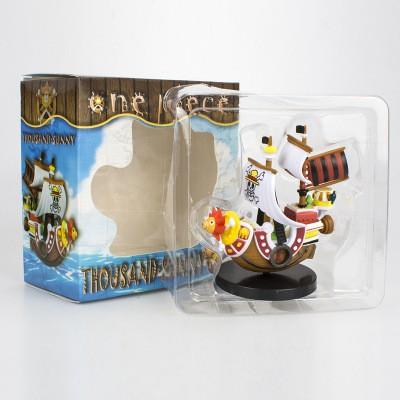 Mô Hình Thuyền Tàu Thousand Sunny Băng Hải Tặc Mũ Rơm Luffy One Piece