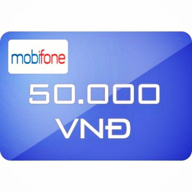 Nạp tiền Mobifone 50k siêu rẻ