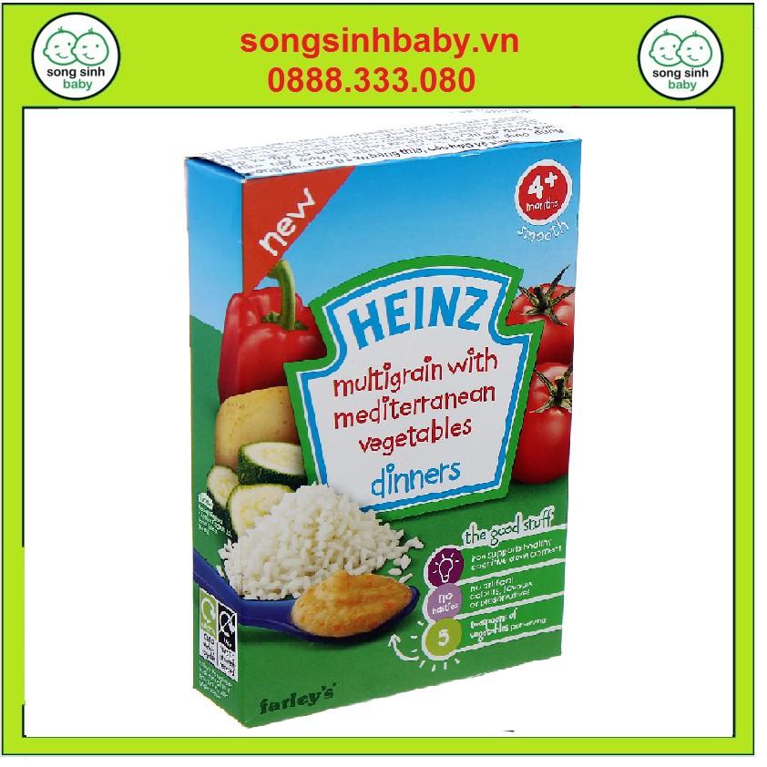Bột ăn dặm Heinz Anh 4+ Ngũ cốc và rau củ hỗn hợp - 10083450 , 1086211199 , 322_1086211199 , 84000 , Bot-an-dam-Heinz-Anh-4-Ngu-coc-va-rau-cu-hon-hop-322_1086211199 , shopee.vn , Bột ăn dặm Heinz Anh 4+ Ngũ cốc và rau củ hỗn hợp