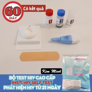 (08 05 2022) Que thử HIV INSTI lấy máu đầu ngón tay kết quả chính xác đến 99% thumbnail