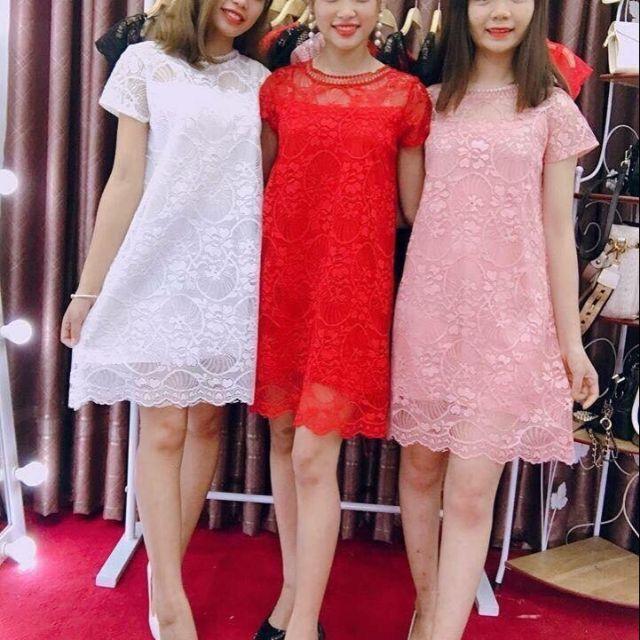 Đầm ren TK