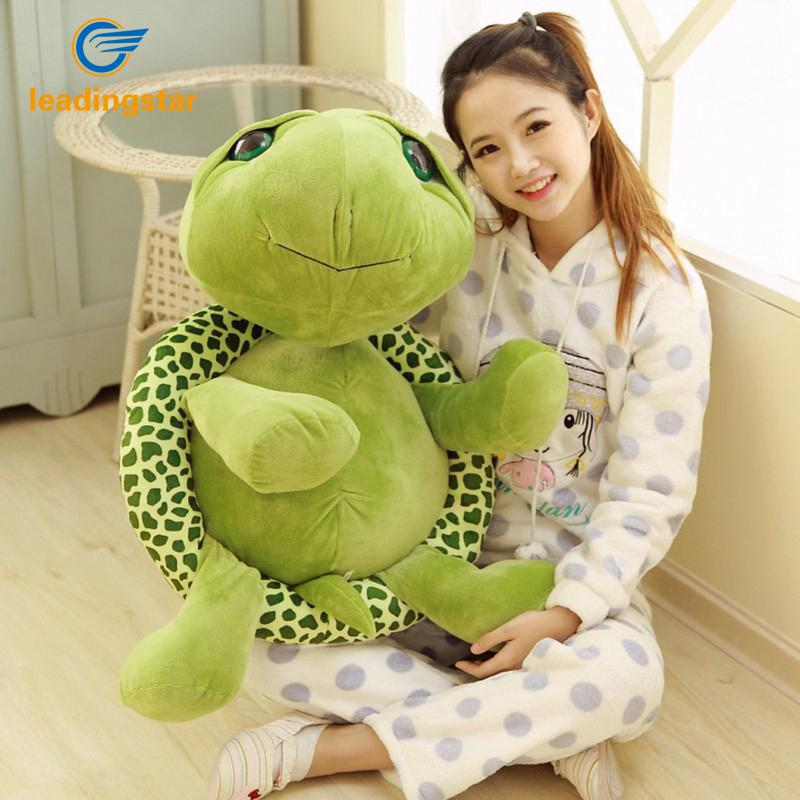 Cute Animal Stuffed Green Sea Turtle Plush Doll Toy for Baby Child Gift