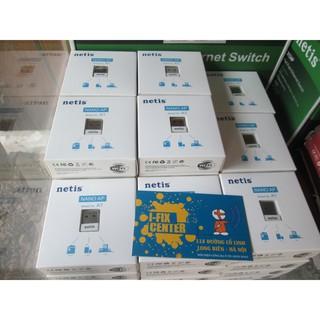Bộ USB Thu Phát WiFi (2 in 1) Netis Nano A1 nhỏ gọn 150MB tải 10 thiết bị thumbnail