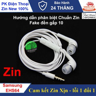 Tai nghe SAMSUNG (EH-S64) A7, J7, C9, J5, Note 4,S3 Chính hãng (ảnh thật Shop chụp)
