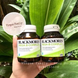 Viên uống vitamin B tổng hợp Blackmores Mega B Complex 75 viên