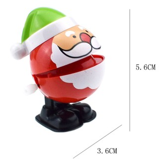 1PC Funny wind up santa claus clockwork walking toys kids Christmas gift