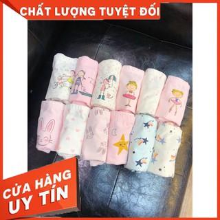 3 Quần chip cho bé gái Teengo Mẫu mới nhất 2021 chất liệu cotton co giãn 4 chiều thoải mái cho bé gái từ 9-36kg