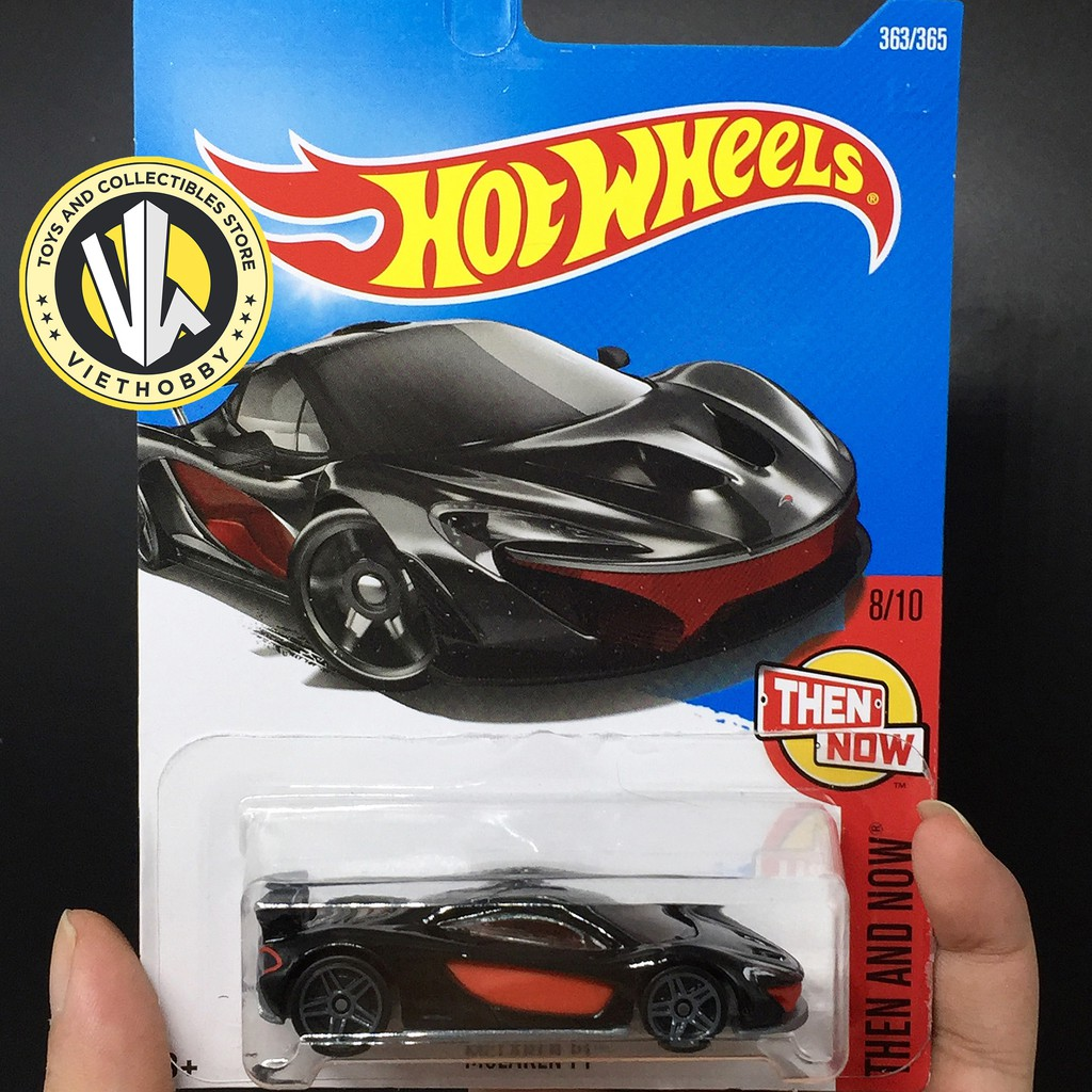 Xe mô hình 1:64 Hot Wheels Basic - McLaren P1