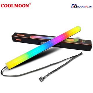 Thanh Led RGB Coolmoon Sáng 2 Mặt 16 Triệu Màu, 366 Hiệu Ứng - Đồng Bộ Hub Coolmoon thumbnail