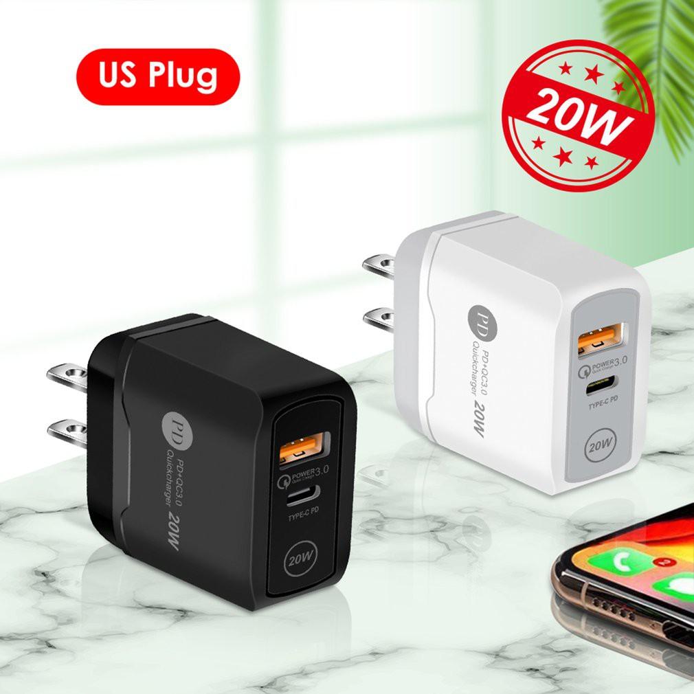 SAMSUNG Củ Sạc Nhanh Pd Qc3.0 20w Cho Iphone 12 Pro Max