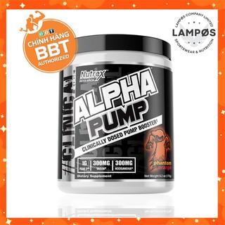 Thực phẩm bổ sung Alpha Pump, Pre-Workout Không Chứa Caffeine của Nutrex (20 lần thumbnail