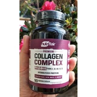 Nutriflair Phức hợp 5 loại Collagen ( I, II, III, V, X) 90 viên