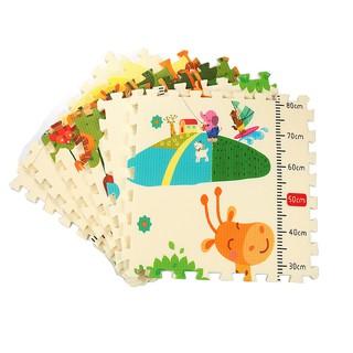 Thảm xốp lót sàn hình tranh cho bé 6 miếng 60 x 60CM Trẻ em câu đố khâu Mat