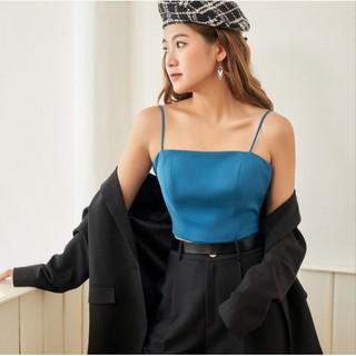 CROP TOP 2 D Y XANH THIÊN THANH 0AO3013 ADORE DRESS thumbnail