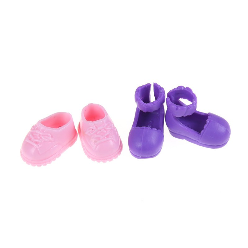 [BEW] 5Pairs Fashion Shoes Boots For Sister Kelly Eva Doll Kids Gift Hot [OL]
