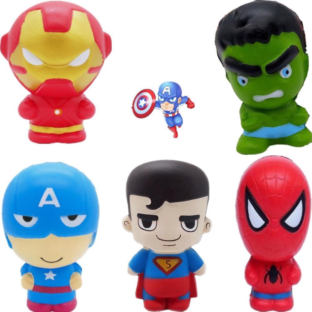 Squishy dẻo hình siêu anh hùng dễ thương