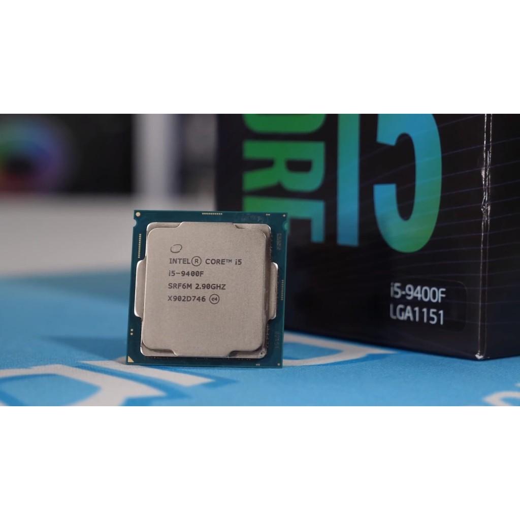 Kết quả hình ảnh cho CPU Intel Core i5-9400F