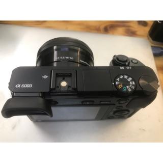 Máy ảnh Sony A6000 kèm ống 16-50mm(hàng like new)