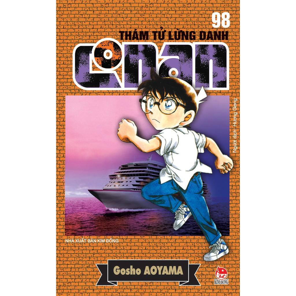 Truyện tranh Conan - Lẻ tập 81 - 98 - Thám tử lừng danh - 81 82 83 84 85 86 87 88 89 90 91 92 93 94 95 96 97 98