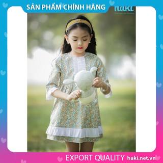 Đầm bé gái_Váy Cinderella HAKI - Hoa vàng HK485.3